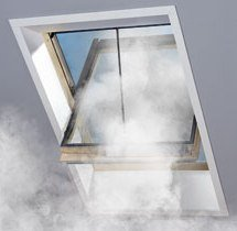 Окнос системой дымоудаления