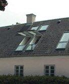 Мансардное окно с комбинированным открыванием