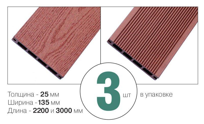 размер и количество террасной доски
